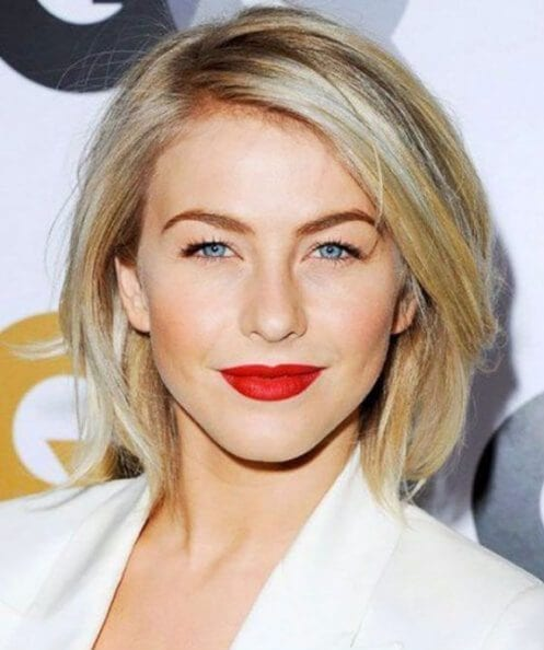 Julianne Hough hairstyles for thin hair