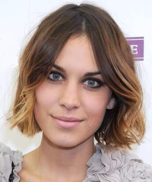 alexa chung hairstyles for thin hair