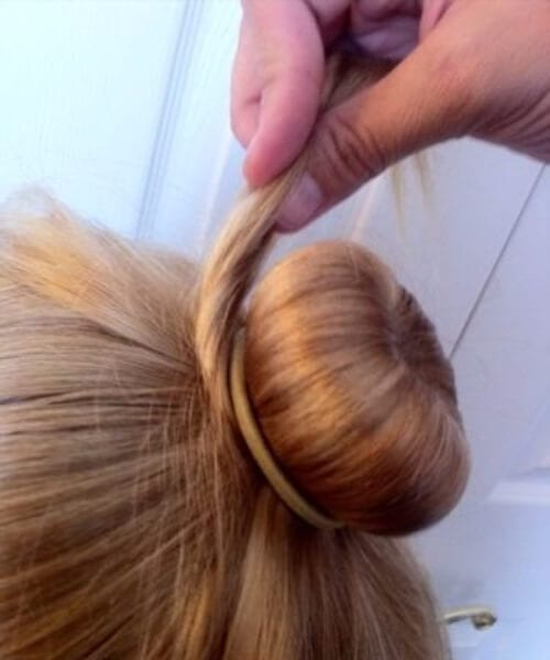 ballet bun little girl hairstyles
