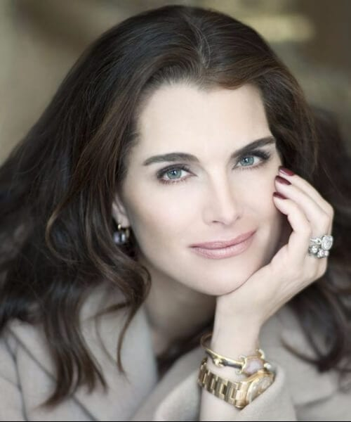 brooke shields hairstyles for women over 40