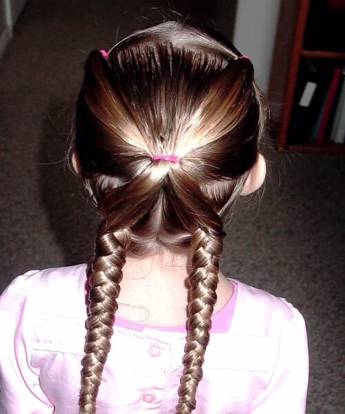 butterfly little girl hairstyles