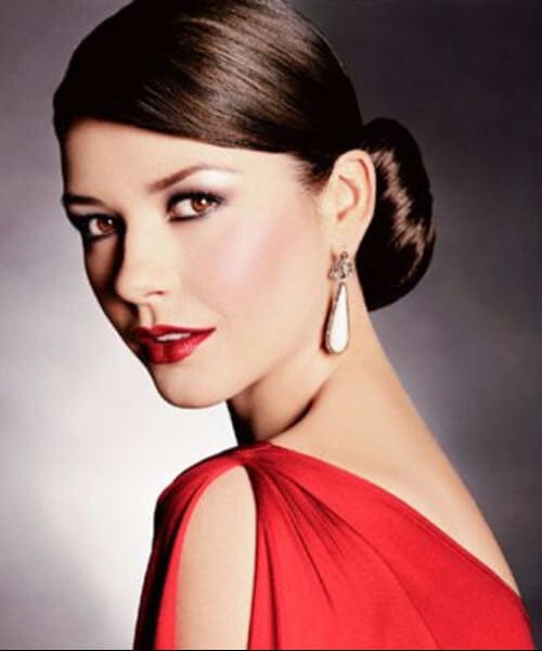 catherine zeta jones hairstyles for women over 40