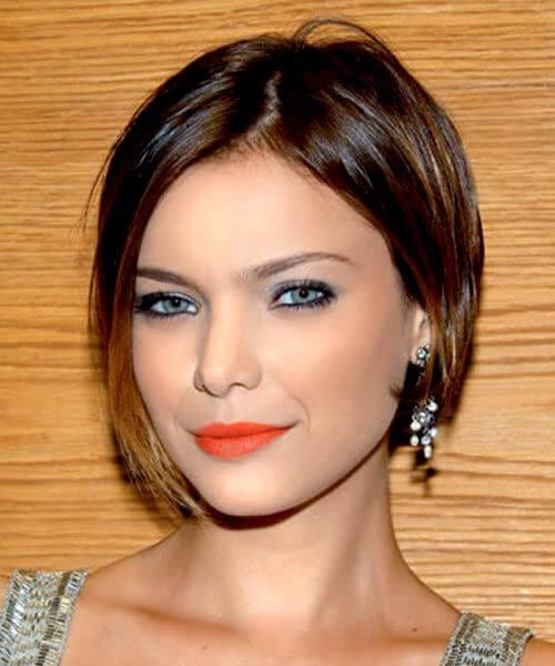 chic asymmetrical bob hairstyles for thin hair
