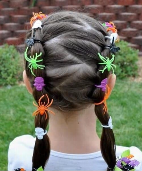 halloween little girl hairstyles