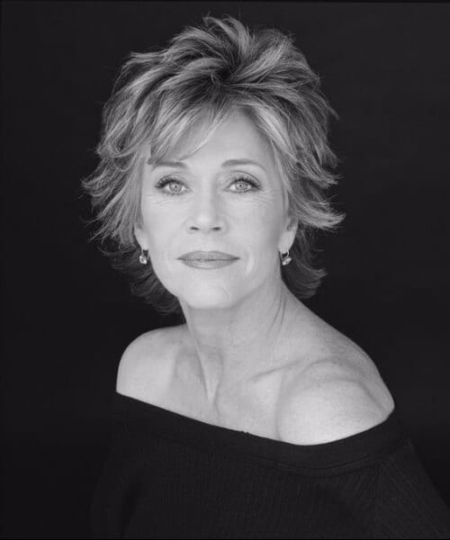 jane fonda hairstyles for women over 40