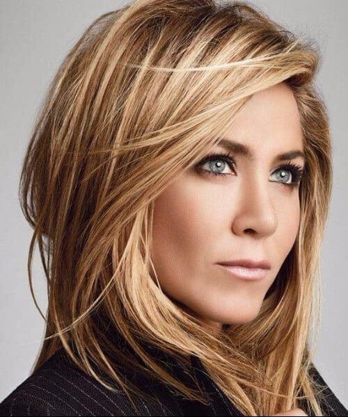 jennifer aniston hairstyles for women over 40