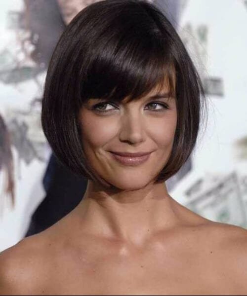 katie holmes hairstyles for women over 40