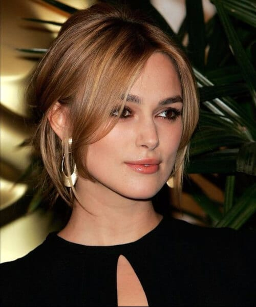 keira knightley hairstyles for thin hair