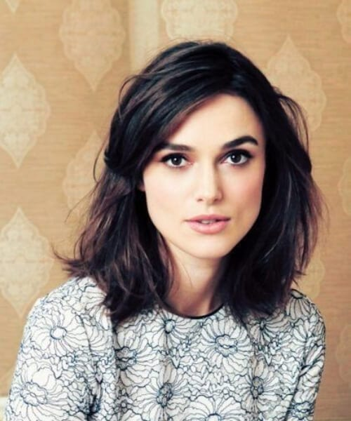keira knightley shoulder length bob