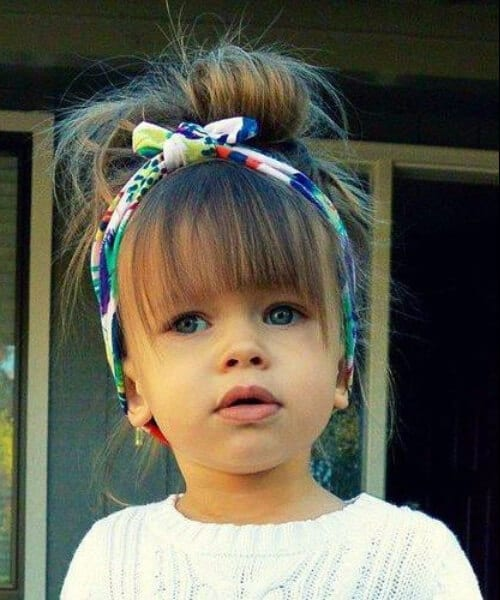 little girl hairstyles bangs