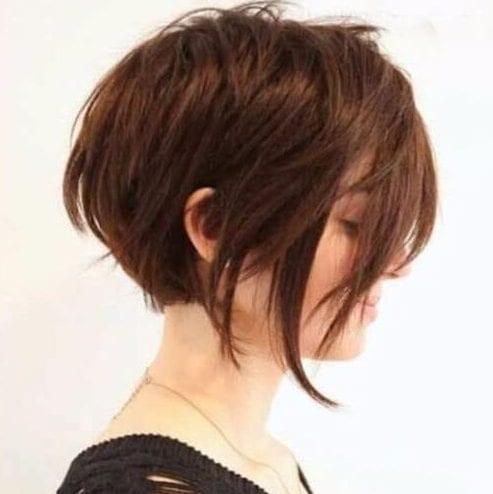 long bangs long pixie cut