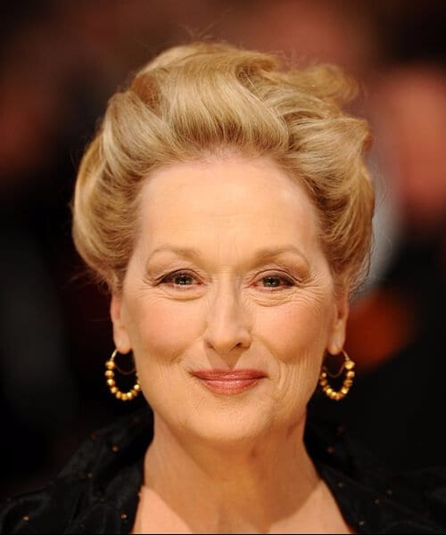 meryl streep hairstyles for women over 40