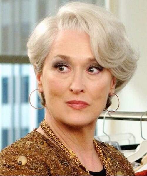 meryl streep the devil wears prada hairstyles for women over 40