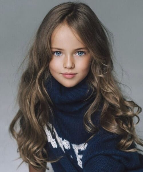 natural waves little girl hairstyles