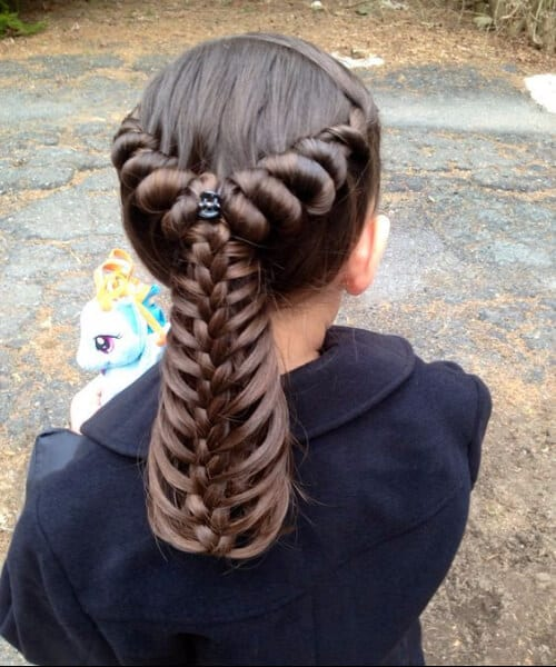 princess little girl hairstyles