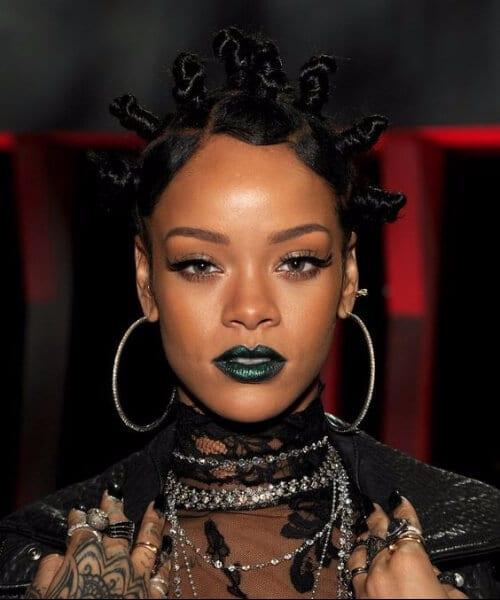 rihanna black girl hairstyles