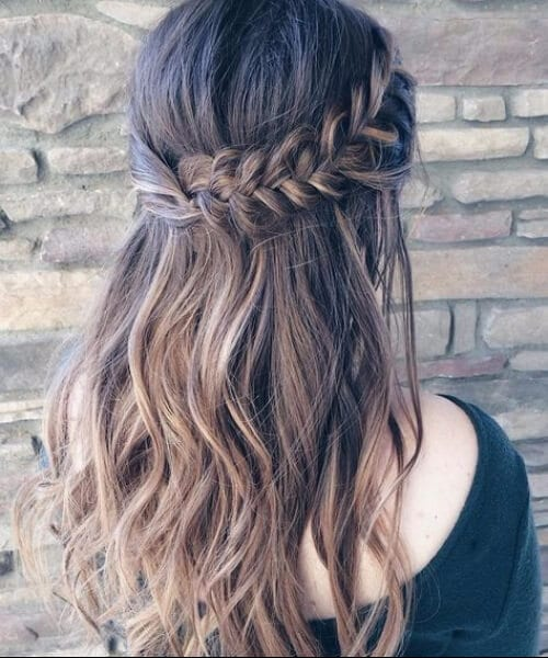 romantic french braid hairstyles