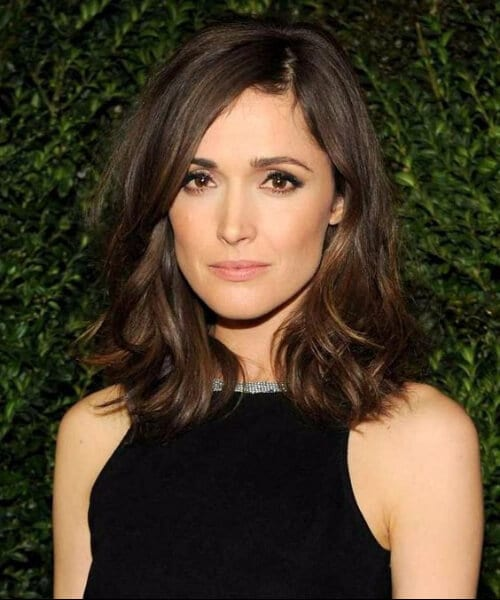 rose byrne shoulder length bob
