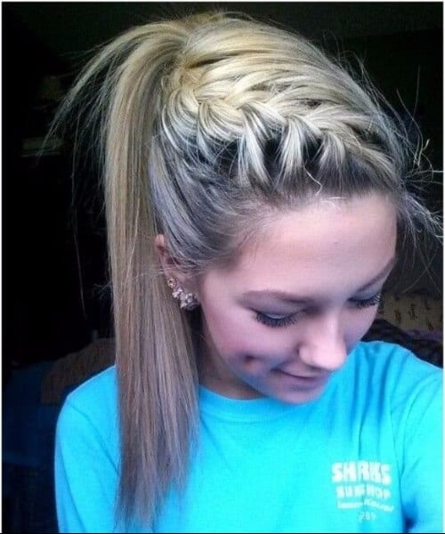 side french braid hairstyles