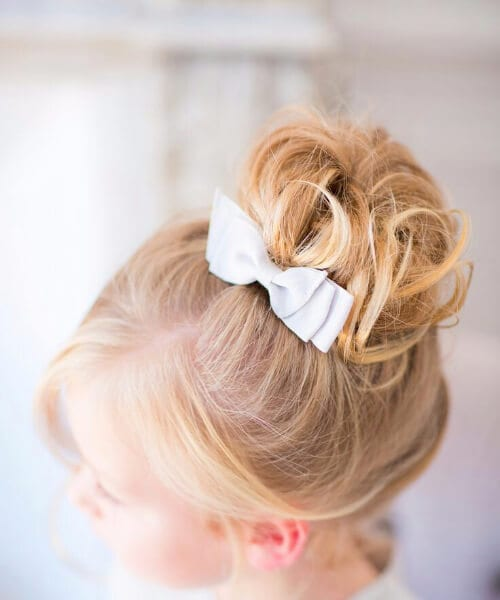 wedding inspiration little girl hairstyles