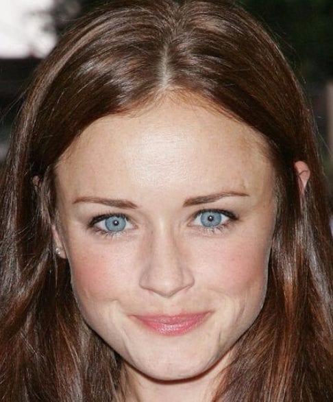 alexis bledel chocolate brown hair