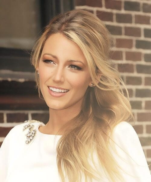 blake lively medium length hairstyles