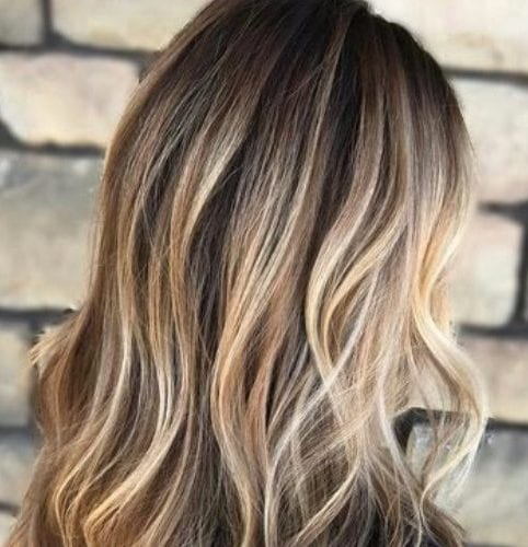 bronde balayage hair color