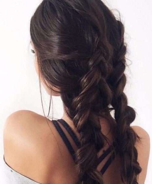 chocolate brwon hair braids