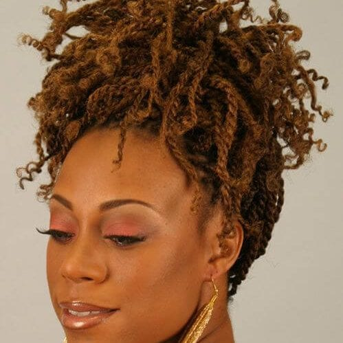 curly ends kinky twists