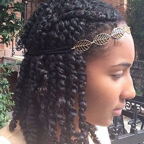 cute kinky twists