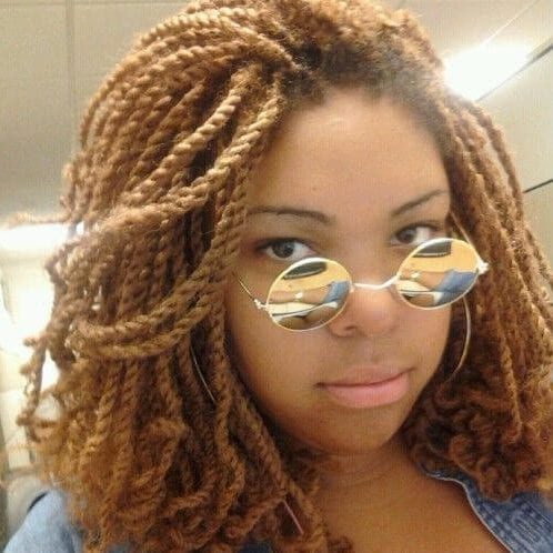 honey kinky twists