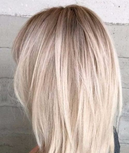 icy medium length hairstyles