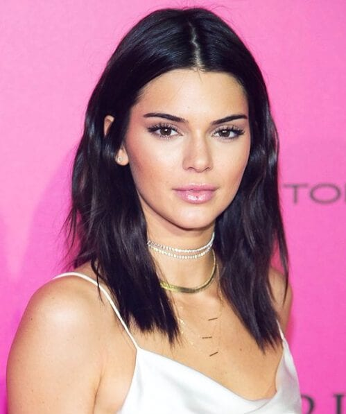 kendall jenner medium length hairstyles
