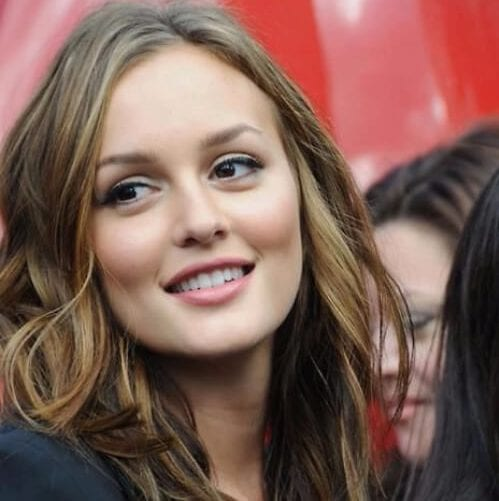leighton meester layered haircuts