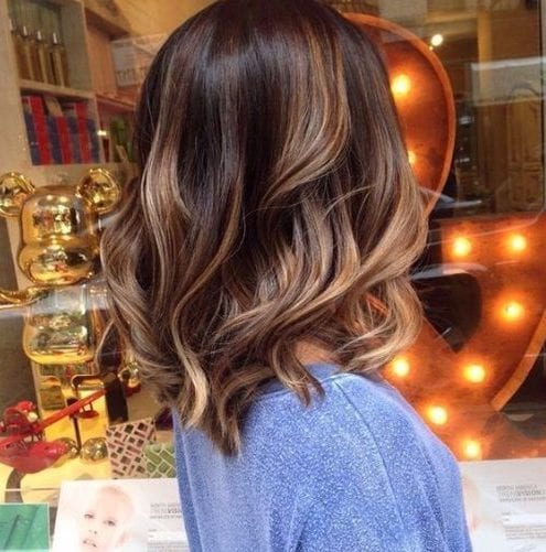 light almond balayage hair color
