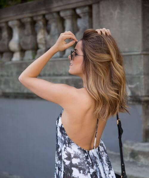 summery medium length hairstyles