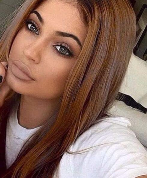 sweet chocolate brown hair