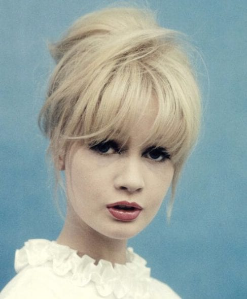 1960s hairstyles with bangs