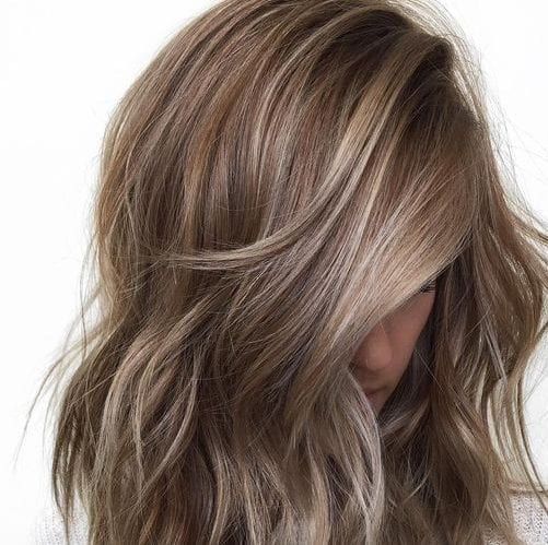 ash blonde brown hair with blonde highlights