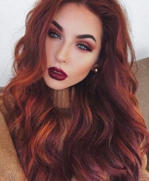 Hair Colors: 50 Scrumptious Fall Hairstyles & Shades