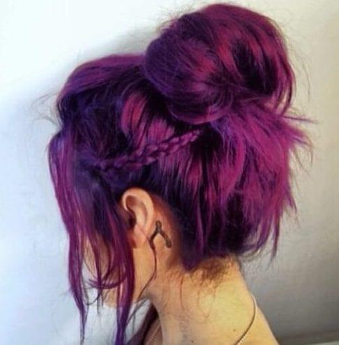 boysenberry plum hair color