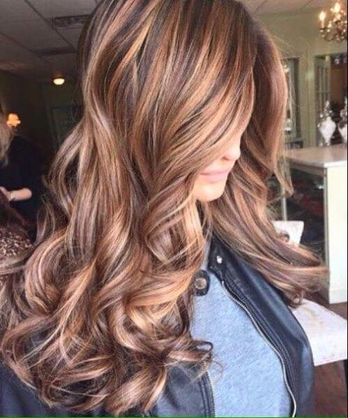 burnt sienna auburn and blonde fall hair colors