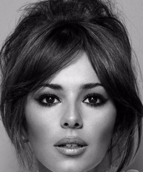 cheryl cole hairstyles with bangs