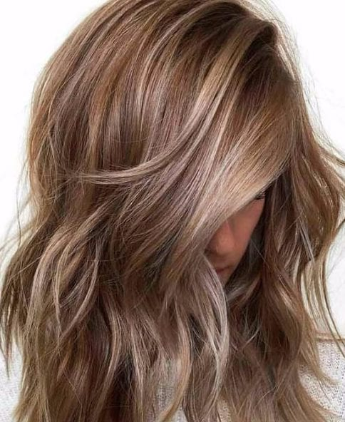 cinnamon and blonde fall hair colors