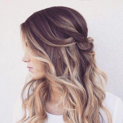 Light Up Your Brown Hair With These 55 Blonde Highlights