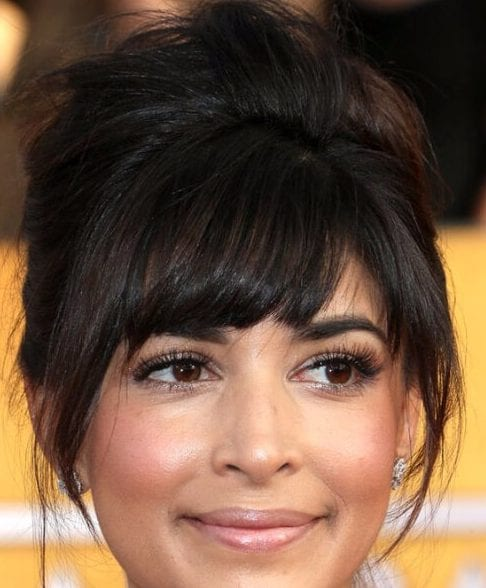 hannah simone hairstyles with bangs
