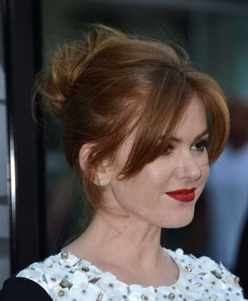 isla fisher hairstyles with bangs