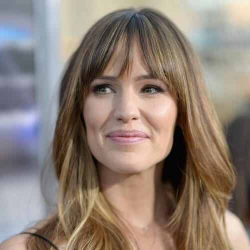 jennifer garner brown hair with blonde highlights