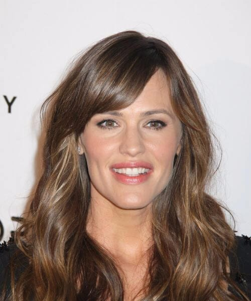 jennifer garner hairstyles with bangs