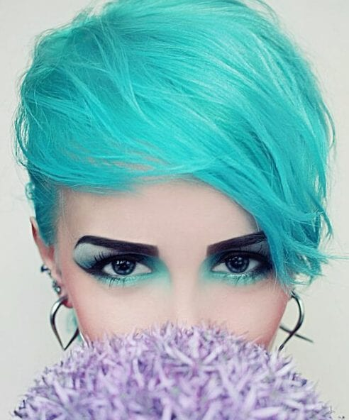 lagoon teal hair color